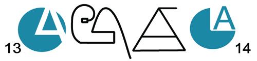 logo třídy web modrá